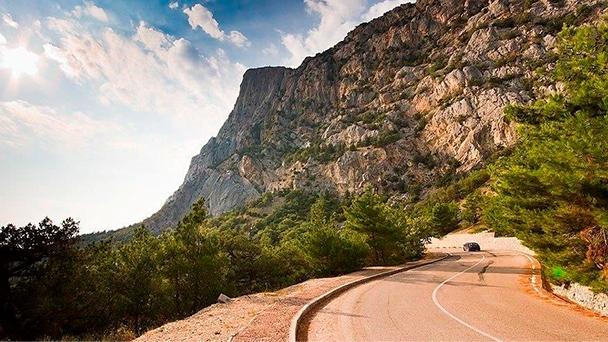 Путешествуйте по Крыму на автомобиле и с комфортом и Вам откроются прекрасные пейзажи