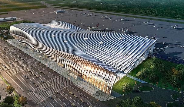 Новый аэропорт в Симферополе - подача машины прям ко выходу из Аэропорта